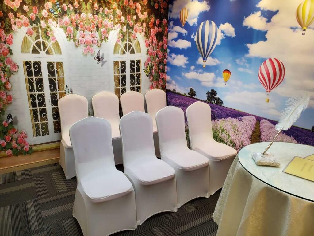 銅鑼灣廣場「花兒盛放」證婚禮堂