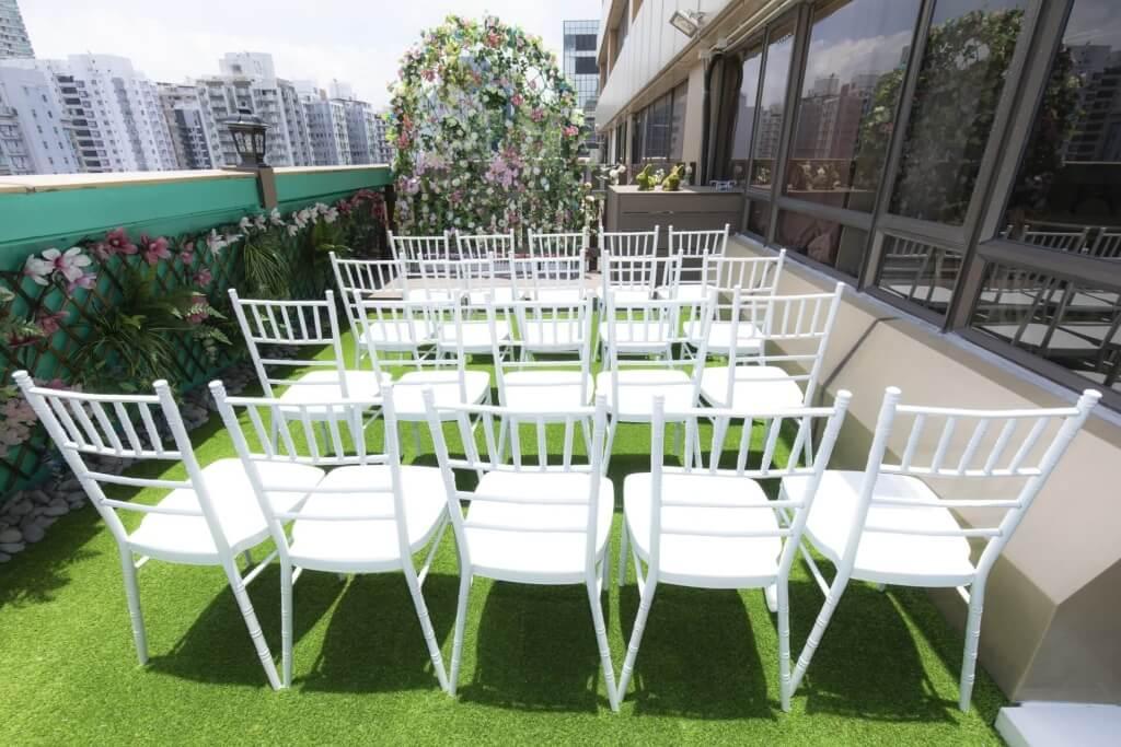 旺角中僑戶外空中花園證婚禮堂