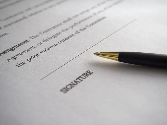 僱傭合約中之條款,是否雙方同意就可生效?